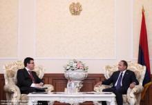 ՀՀ ԱԺ նախագահն ընդունեց Հայաստանում Եվրոպական Միության պատվիրակության ղեկավարին
