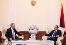 ՀՀ ԱԺ նախագահն ընդունեց Ալբանիայի դեսպանին