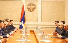 ՀՀԿ  պատվիրակությունը Ստեփանակերտում հանդիպել է Բակո Սահակյանին