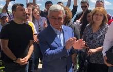 Հանրապետական կուսակցության ներկայացուցիչները Սերժ Սարգսյանի գլխավորությամբ այցելել են Սպիտակավոր եկեղեցի և հարգանքի տուրք մատուցել Գարեգին Նժդեհի հիշատակին