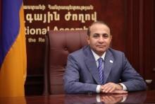 ԱԺ նախագահ Հովիկ Աբրահամյանի ուղերձը Հայաստանի Հանրապետության Սահմանադրության օրվա առթիվ