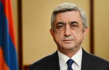 Սերժ Սարգսյանը շնորհավորել է Վլադիմիր Կազիմիրովին` ծննդյան հոբելյանի առթիվ