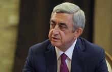 Սերժ Սարգսյանը մեկնել է Արցախ