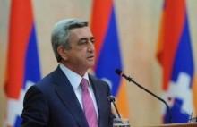 Поздравительное послание третьего Президента РА Сержа Саргсяна по случаю Праздника Победы и Мира