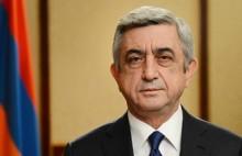 Поздравительное послание третьего Президента РА Сержа Саргсяна по случаю Праздника Республики