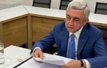 Serzh Sargsyan Attends EPP Eastern Partnership Videoconference
