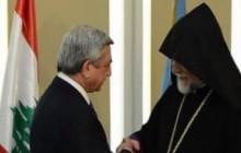 Серж Саргсян имел телефонный разговор с Католикосом Великого Дома Киликийского Арамом