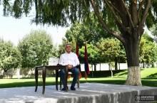 «Ես երբևէ որևէ մեկի հետ որևէ պայմանավորվածություն, որ կարող էր վնասել մեր ժողովրդին կամ վտանգ լինել մեր հայրենիքի համար, չէի կարող ունենալ». Սերժ Սարգսյան