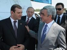 Նախագահը ծանոթացել է Երևան քաղաքում 2012թ. իրականացվող ճանապարհաշինարարական ծրագրերի ընթացքին