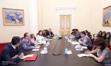 Տիգրան Սարգսյանն ընդունել է Իտալիայի արտաքին գործերի նախարարի տեղակալին