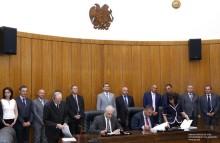 ՀՀ կառավարության և ՄԱԶԾ-ի միջև ստորագրվել են ՀՀ պետական սահմանների արդիականացման ծրագրերի մեկնարկն ազդարարող համաձայնագրեր