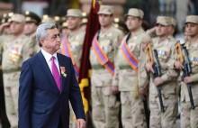 Послание третьего Президента РА Сержа Саргсяна по случаю Дня армии