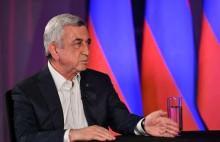 """Третий Президент Республики Армения, председатель Республиканской партии Армении Серж Саргсян дал развернутое интервью телеканалу """"Армнюз""""."""