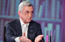"You can watch the exclusive interview of the third President of the Republic of Armenia Serzh Sargsyan to ""ArmNews"" TV this evening, at 9 pm on the TV."