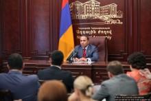 ՀՀ Ազգային ժողովի նախագահ Հովիկ Աբրահամյանը խորհրդակցություն հրավիրեց