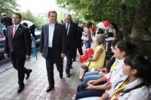 Կենտրոնի փոքրիկների առաջին բաց դասին ներկա է եղել քաղաքապետ Տարոն Մարգարյանը