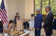 Серж Саргсян в Джермуке наблюдал за ходом мемориального турнира имени Степана Авагяна
