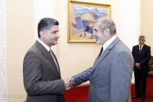 PM Receives Philippe Lefort