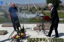 Дань уважения памяти погибших за независимость Родины