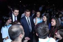 Քաղաքապետ Տարոն Մարգարյանը ներկա է գտնվել <<Երևանը մեր տունն է>> երիտասարդական արշավի եզրափակիչ միջոցառմանը