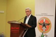 Սերժ Սարգսյանի ելույթը «Հետպատերազմյան Հայաստան. ի՞նչ կարող ենք անել մենք» թեմայով