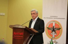"""Serzh Sargsyan's remarks entitled """"Post-war Armenia: what can we do?"""""""