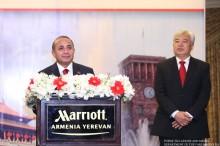 ՀՀ ԱԺ նախագահը մասնակցեց ՉԺՀ կազմավորման օրվան նվիրված ընդունելությանը