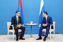 Տիգրան Սարգսյանը և Դմիտրի Մեդվեդևը քննարկել են հայ-ռուսական համագործակցության հետագա զարգացմանն առնչվող հարցեր