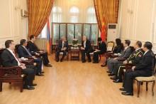 Նախագահ Սերժ Սարգսյանը շնորհավորել է ՉԺՀ կազմավորման 63-րդ տարեդարձի կապակցությամբ