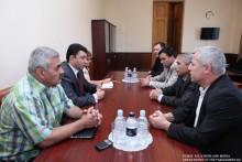 ԱԺ փոխնախագահն ընդունեց Կովկասի բնիկ ժողովուրդների ներկայացուցիչներին