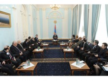 Serzh Sargsyan received members of the delegation of the Committee of the Parliamentary Assembly of Euronest