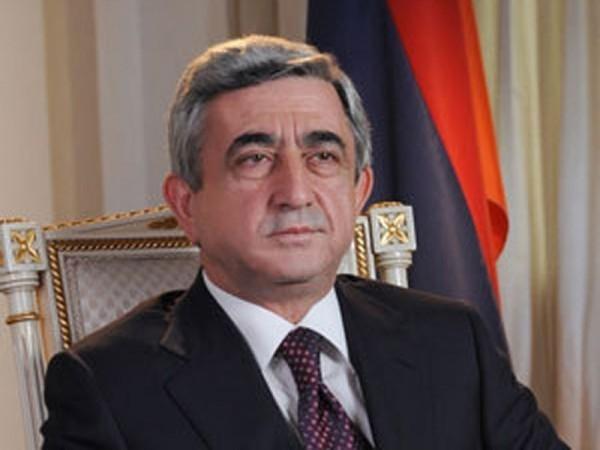 Серж Саргсян: Ереван готов обдумать возможность новой встречи, если Баку выполнит достигнутые договоренности