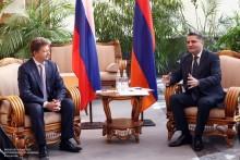Ստորագրվել է Հայաստանի և Ռուսաստանի միջև մինչև 2020 թվականը երկարաժամկետ տնտեսական համագործակցության ծրագիրը