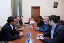 ԱԺ ՀՀԿ խմբակցության ղեկավարը հանդիպեց ՀՀ-ում Իրանի դեսպանի հետ