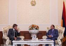 ՀՀ ԱԺ նախագահ Հովիկ Աբրահամյանն ընդունեց Ռիգայի դումայի նախագահին