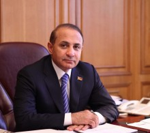 RA NA President Hovik Abrahamyan Congratulated the Representatives of the Mass Media on the Armenian Press Day