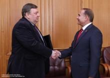 ԱԺ նախագահ Հովիկ Աբրահամյանն ընդունեց ԵԱՀԿ երեւանյան գրասենյակի ղեկավարին