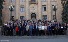 ՀՀ ԱԺ նախագահ Հովիկ Աբրահամյանն ընդունեց ՀԲԸՄ ներկայացուցիչներին