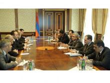 Սերժ Սարգսյանն ընդունել է Եվրախորհրդարանի արտաքին հարաբերությունների հանձնաժողովի պատվիրակությանը