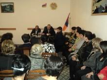 Տեղի ունեցավ ՀՀԿ Գանձաքարի սկզբնական կազմակերպության ժողով