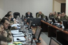 Serzh Sargsyan visited the Operation Control Center of the RA Armed Forces