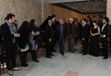 Նախագահ Սերժ Սարգսյանը Դիլիջանում հանդիպում է ունեցել ՀՀ ստեղծագործական միությունների ներկայացուցիչների հետ