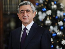 Address by President Serzh Sargsyan on the occasion of New Year and Christmas holidays