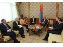 Президент Серж Саргсян принял сопредседателей Минской группы ОБСЕ