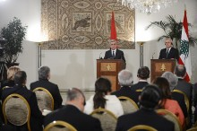 In the framework of his official visit to Lebanon, President Serzh Sargsyan met with President Michel Suleiman