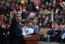 Սերժ Սարգսյանի նախընտրական ելույթը Եղեգնաձորում