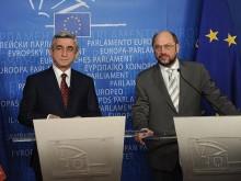 ՀՀ նախագահը հանդիպել է Եվրախորհրդարանի նախագահ Մարտին Շուլցի հետ