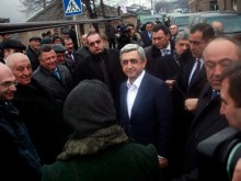 Pre-election meetings in Tavush and Lori regions