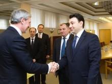 Eduard Sharmazanov Discussed the NK Settlement Process with the Vice President of the Lithuanian Seimas Erikas Tamašauskas