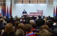 Սերժ Սարգսյանի ելույթը Արաբկիր համայնքում